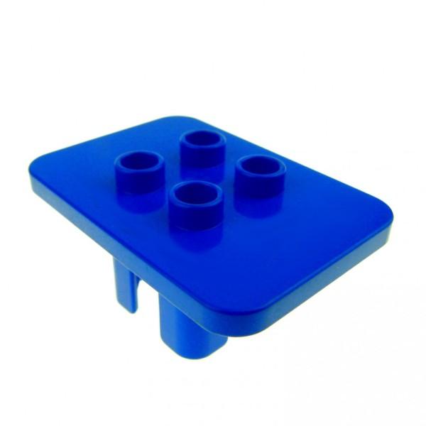 1 x Lego Duplo Möbel Tisch blau eckig Wohnzimmer Küche Puppenhaus Winnie The Pooh Post 647923 6479