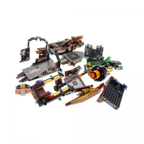1 x Lego System Set Modell für Ninjago 70605 Misfortune's Keep Luftschiff des Unglücks braun grau incomplete unvollständig