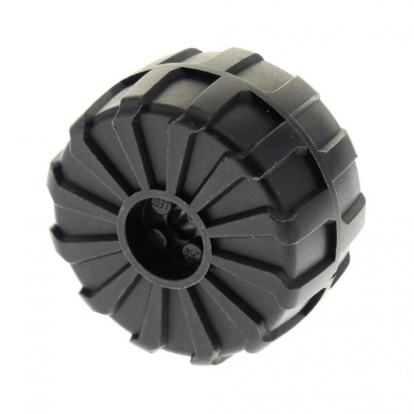 1 x Lego Technic Rad schwarz 54mm D. x 30mm hart Plastik Auto Fahrzeug für Set 70169 70225 1787 76078 70731 6991 6933 6895 6097664 2515