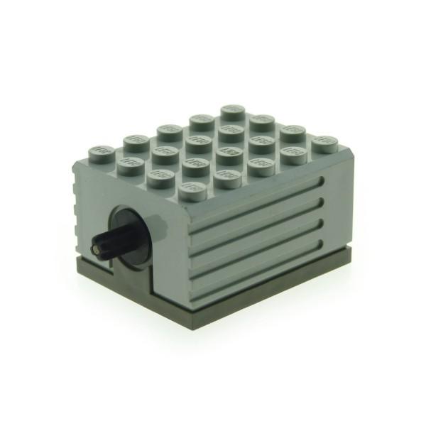 1 x Lego Technic Electric Motor alt-hell grau 9V 5x4x2 1/3 Elektrik geprüft für Set 5114 9883 9633 8094 8868 8485 8480 9793 2838c01