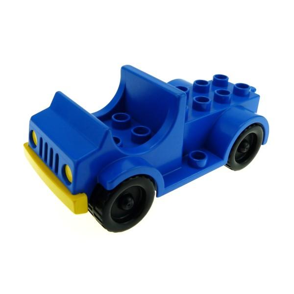 1 x Lego Duplo Fahrzeug Tankwagen blau Feuerwehr Auto PKW LKW Transporter für Set 1044 9153 2639 4575
