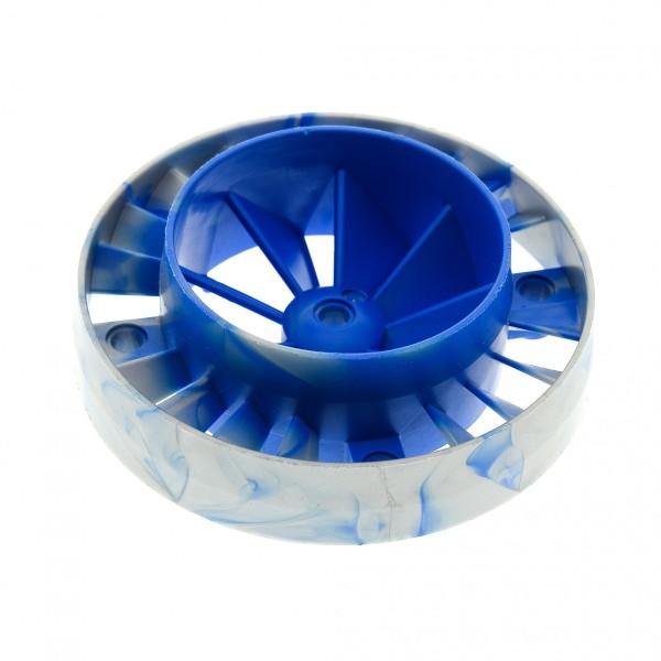 1 x Lego Technic Turbine perl hell grau blau Triebwerk Propeller Lüfter Rad Motor Düse Exo force 8106 53983pb02