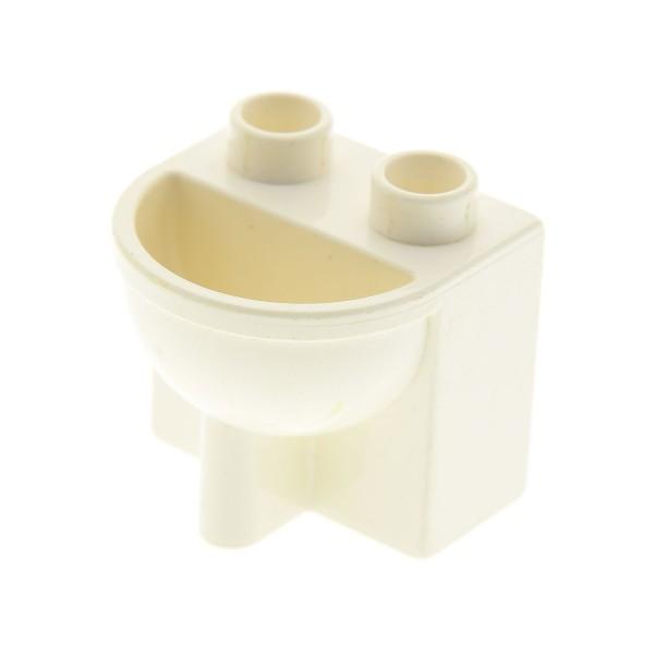 1x Lego Duplo Möbel Waschbecken weiß Badezimmer Bad Puppenhaus 4112061 4892