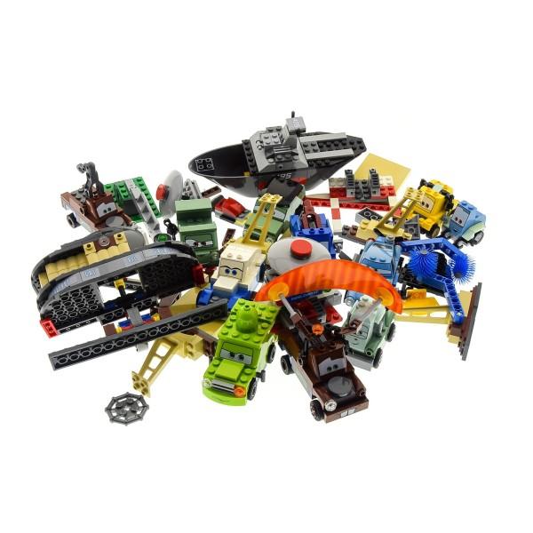 1 x Lego System Cars Modell Fahrzeuge für Set Cars 8487 Flo's V8 Cafe 8426 Flucht auf dem Wasser 9485 Großes Wettrennen incomplete unvollständig