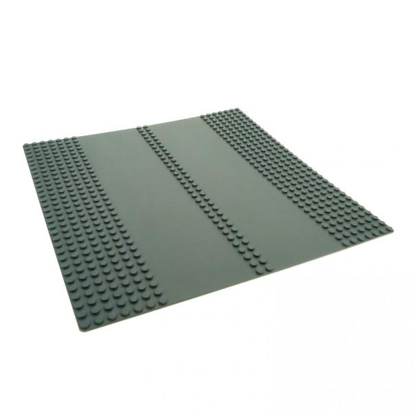 1 x Lego System Bau Platte 32x32 Straßen 7N neu-dunkel grau 32 x 32 Noppen doppel Straße 4507668 30225c01