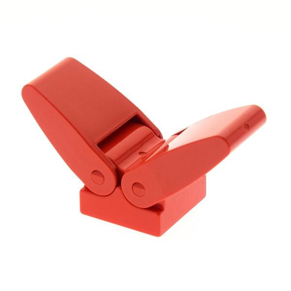 1 x Lego Duplo Tier Flügel rot 2x2 für Insekten Vogel Schwingen beweglich 2297 3146c01