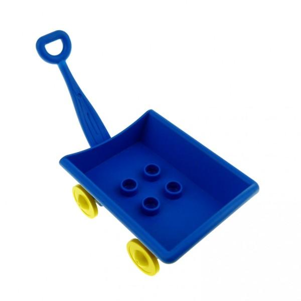 1 x Lego Duplo Handwagen blau Wagen Puppenhaus Spielplatz Winnie The Pooh Set 2989 2987 2985 31285c01