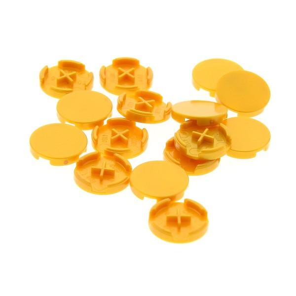 15 x Lego System Fliese rund perl gold 2x2 für Set 10235 41058 70503 70500 4579099 4150