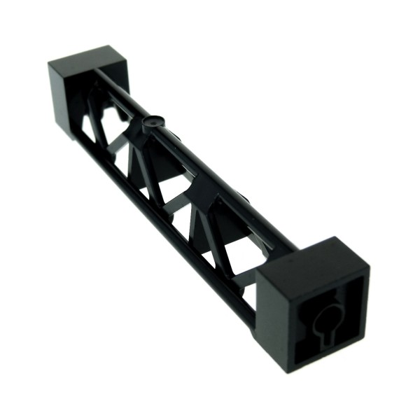 1 x Lego System Stütze schwarz 2x2x10 Säule Pfeiler Träger Pillar Girder Triangular Vertical - Type 4 für Set 76042 4667463 95347
