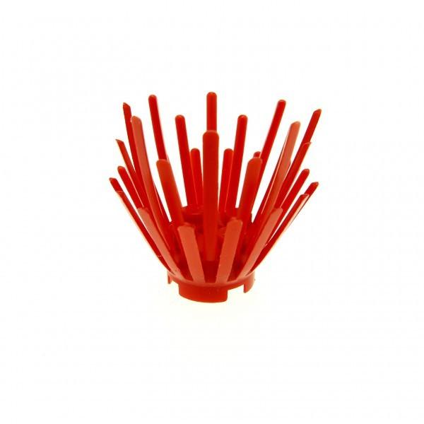 2 x Lego System Pflanze rot Busch 2 x 2 x 3 Basis Strauch aus 6195 6175 6065
