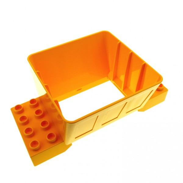 1 x Lego Duplo Kugelbahn Trichter 2x4 hell orange für Schütte Eisenbahn 3772 4255186 31025
