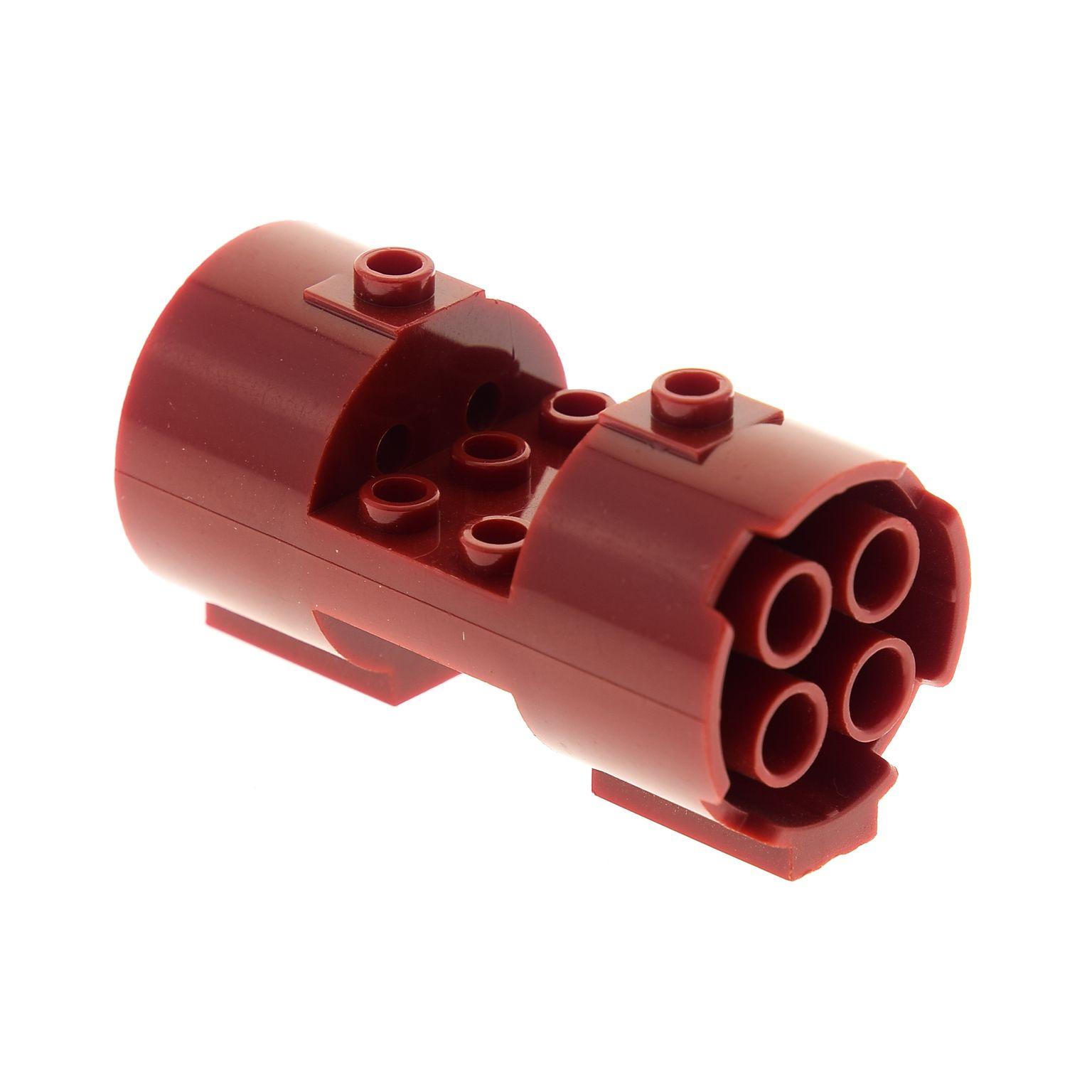 1 x Lego System Zylinder rot 3x6x2 Triebwerk Düse Set Star Wars 7134 30360