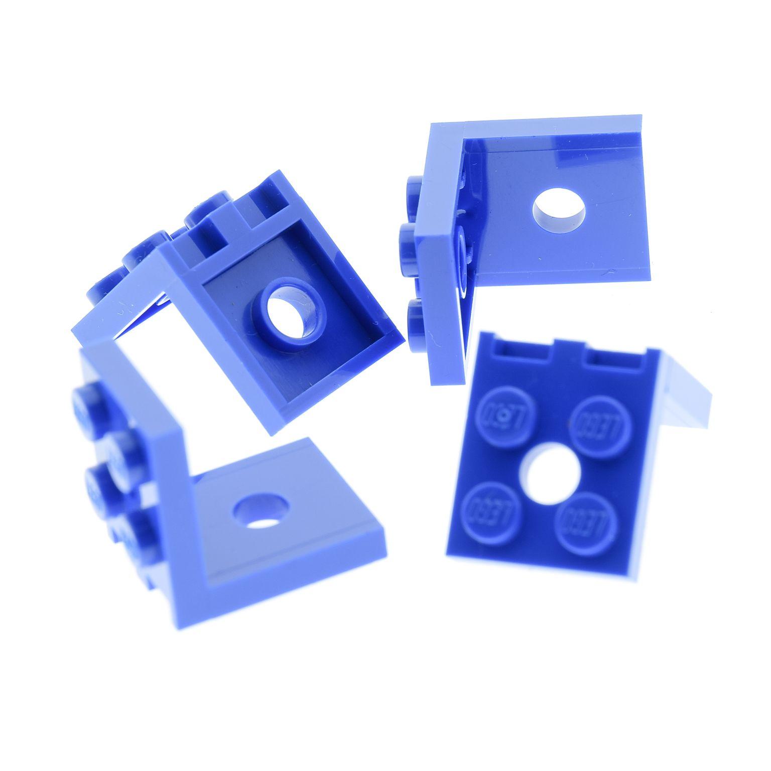 Lego 8 x Winkelplatte Winkel Halter 2x2-2x2 weiß 3956 Classic Space
