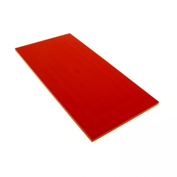 1 x Lego System Platte Fliese rot 16 x 8 16x8 8x16 Ferrari flach Bauplatte 8185 8654 7637 4242525 48288