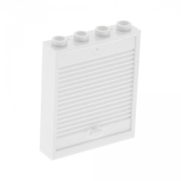 1 x Lego System Tür weiß 1 x 4 x 4 Rahmen Klapp Tor Lift 6155 6154c02