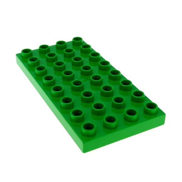 1 x Lego Duplo Bau Basic Platte 4 x 8 bright hell grün 4x8 8 x 4 Noppen Steinzeit Farm Eisenbahn 9125 10804 3325 10584 6157 5634 4168662 10199 4672