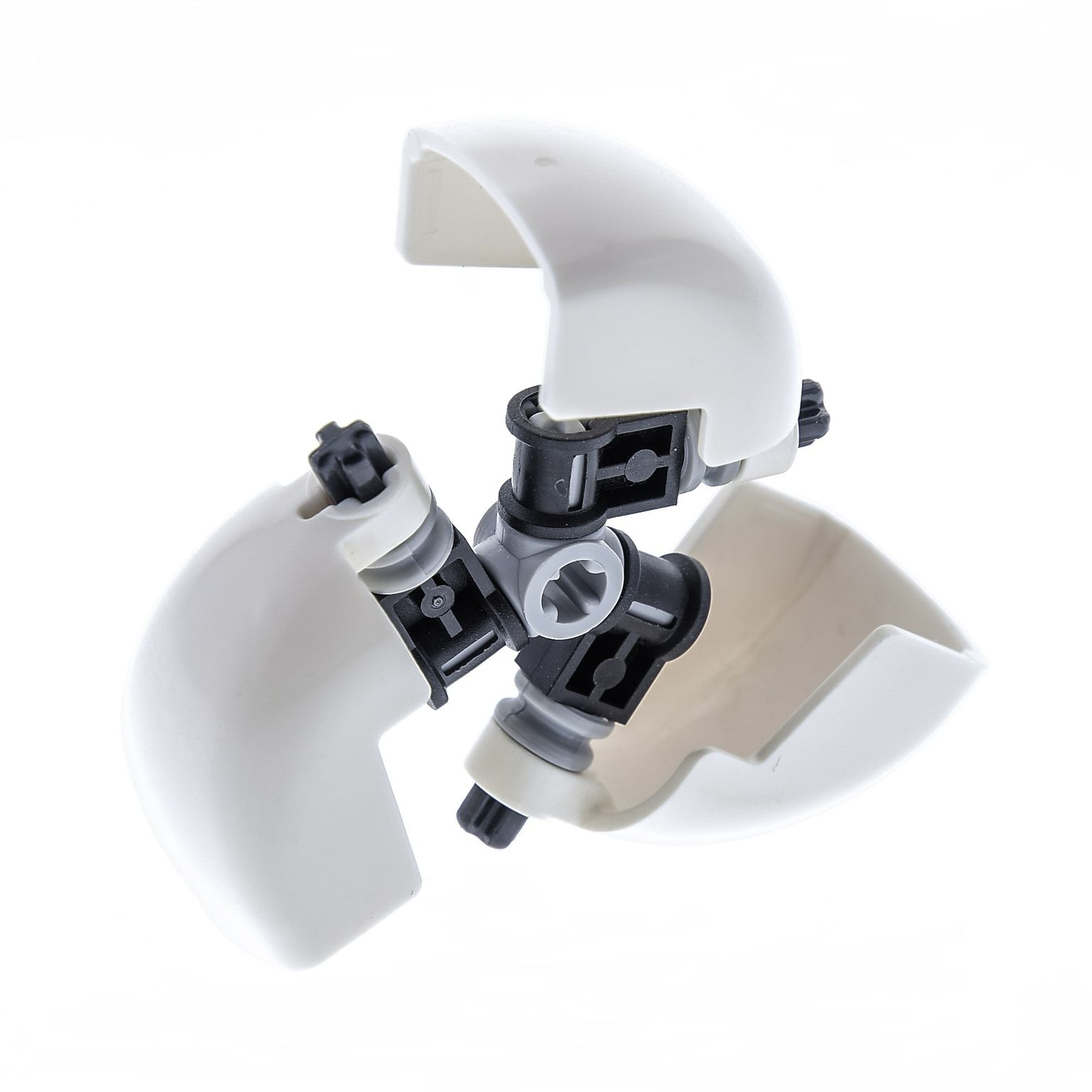 1 x Lego Bionicle Figur Maske weiss für Technic Schaufel 7645 4528414 57702