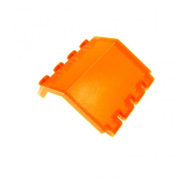 1 x Lego System Fenster transparent neon orange 2x4x3 Panele Ufo Klappe Space Kanzel Cockpit 6139 2582