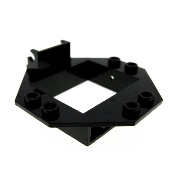 1 x Lego System Cockpit Fenster Rahmen schwarz 1x4x3 für Oktagon Kuppel Panele Futuron Blacktron II 2443