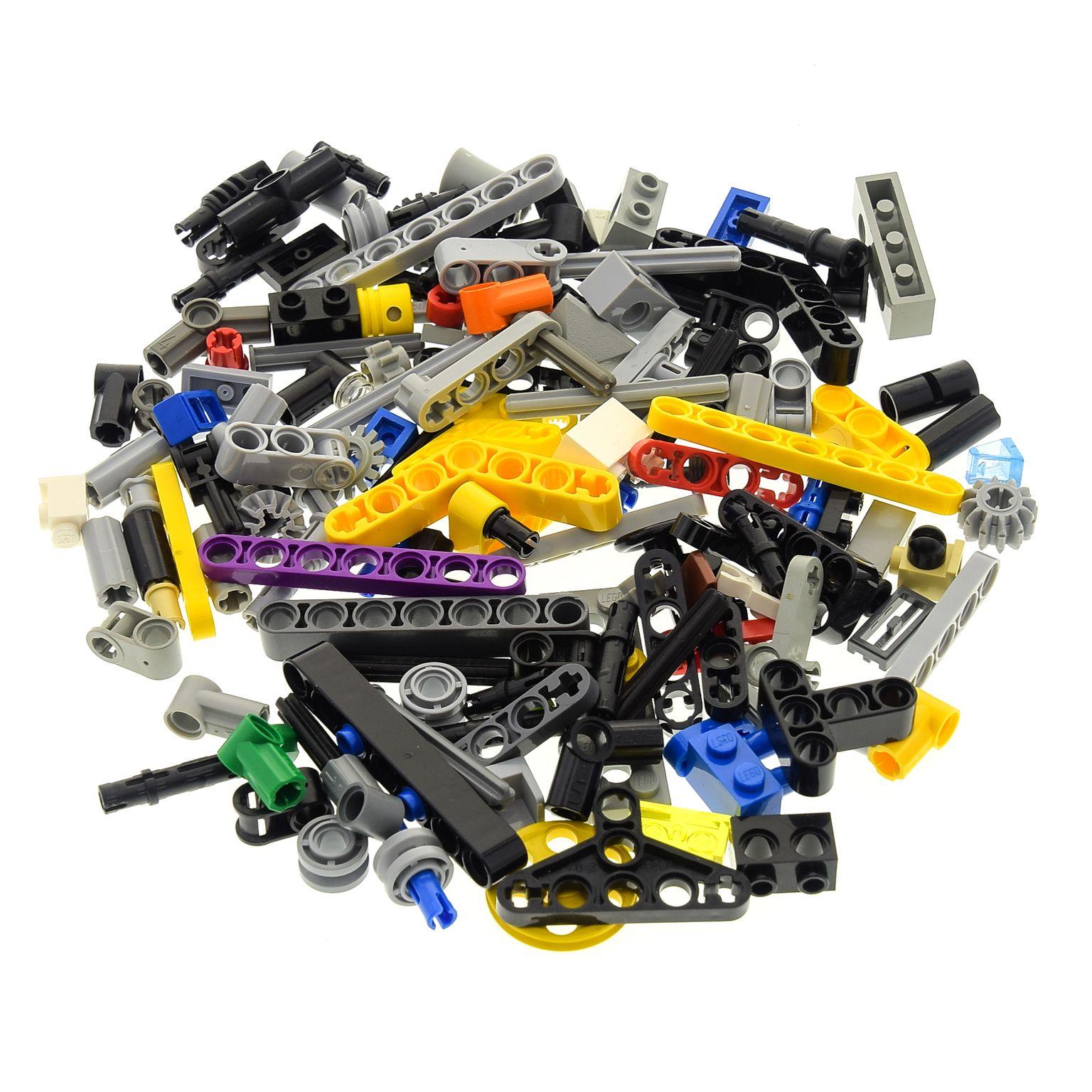 Pins Verbinder Technik Lego® Technic 100 Kleinteile Zahnräder