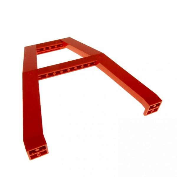 1 x Lego System Kran Standfuß rot Stütze Säule Träger Gerüst Kran Verladekran 2635