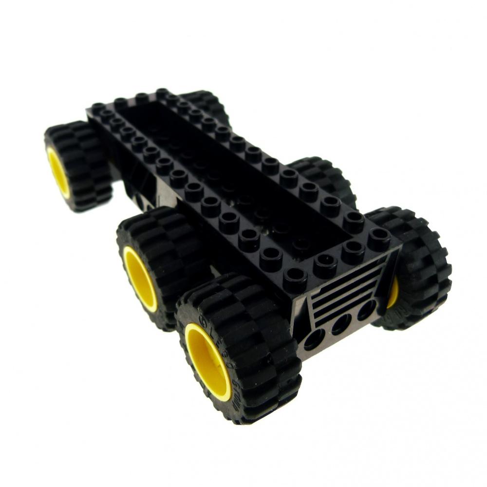 Fahrzeug Unterbau mit Räder in Rot Lego City