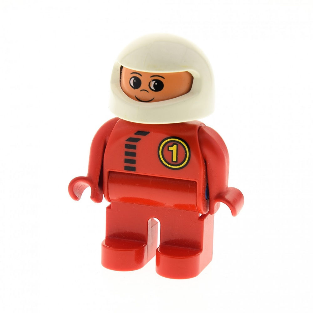 Scorcher Torso orange 1 x Lego System Figur Mann Racers Rennfahrer Racer Driver