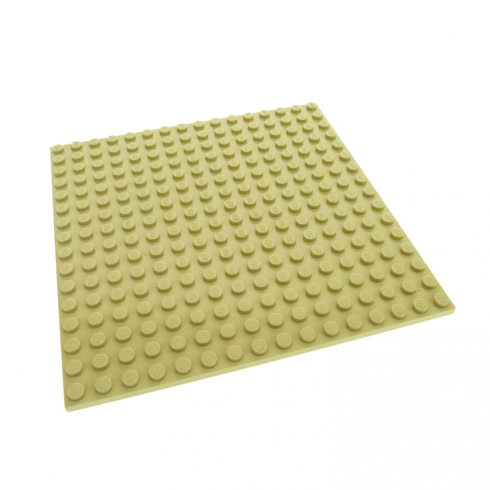BASEPLATE TAN 4611414 NEW 16x16-91405 LEGO PLATE