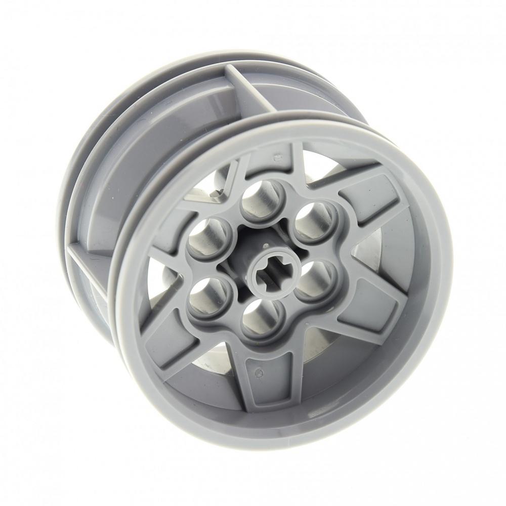x15mm Technic 60208 LEGO 8 x Felge neuhell grau Light Bluish Gray Wheel 31mm D