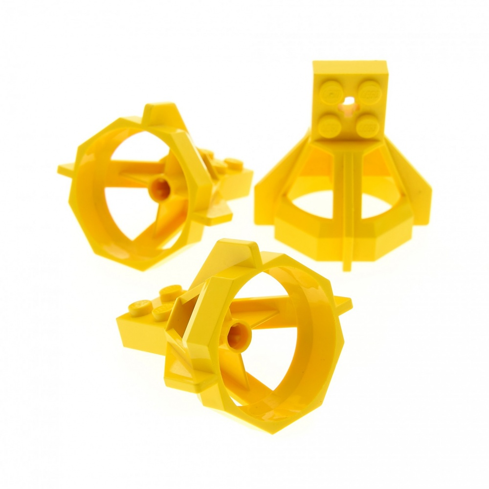 Neon//Grün Propeller Lego--6040- Gelb Proppeller Gehäuse--5 x 5 x 3,67-