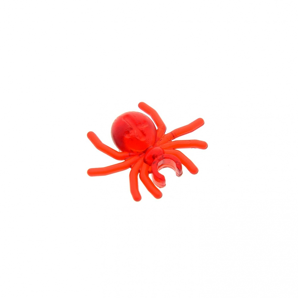 Lego 1 x Spinne 30238  transparent rot