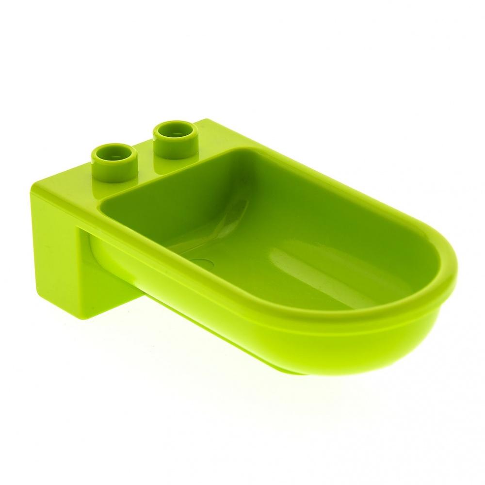 Détails sur 1 X Lego Duplo Meuble Baignoire Moyen Lime Vert Salle de Bains  Maison Poupée