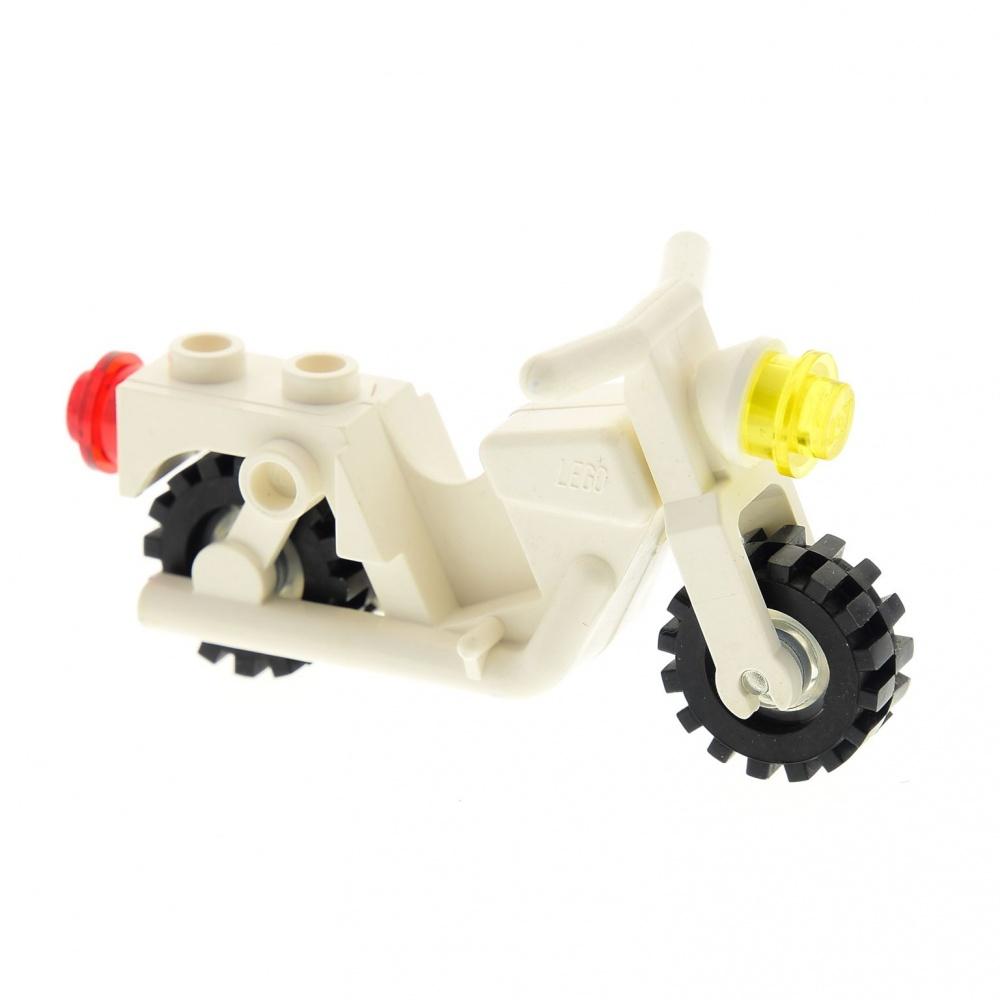 Lego City 1 Paneele 1 x 6 x 5 in durchsichtig weiß