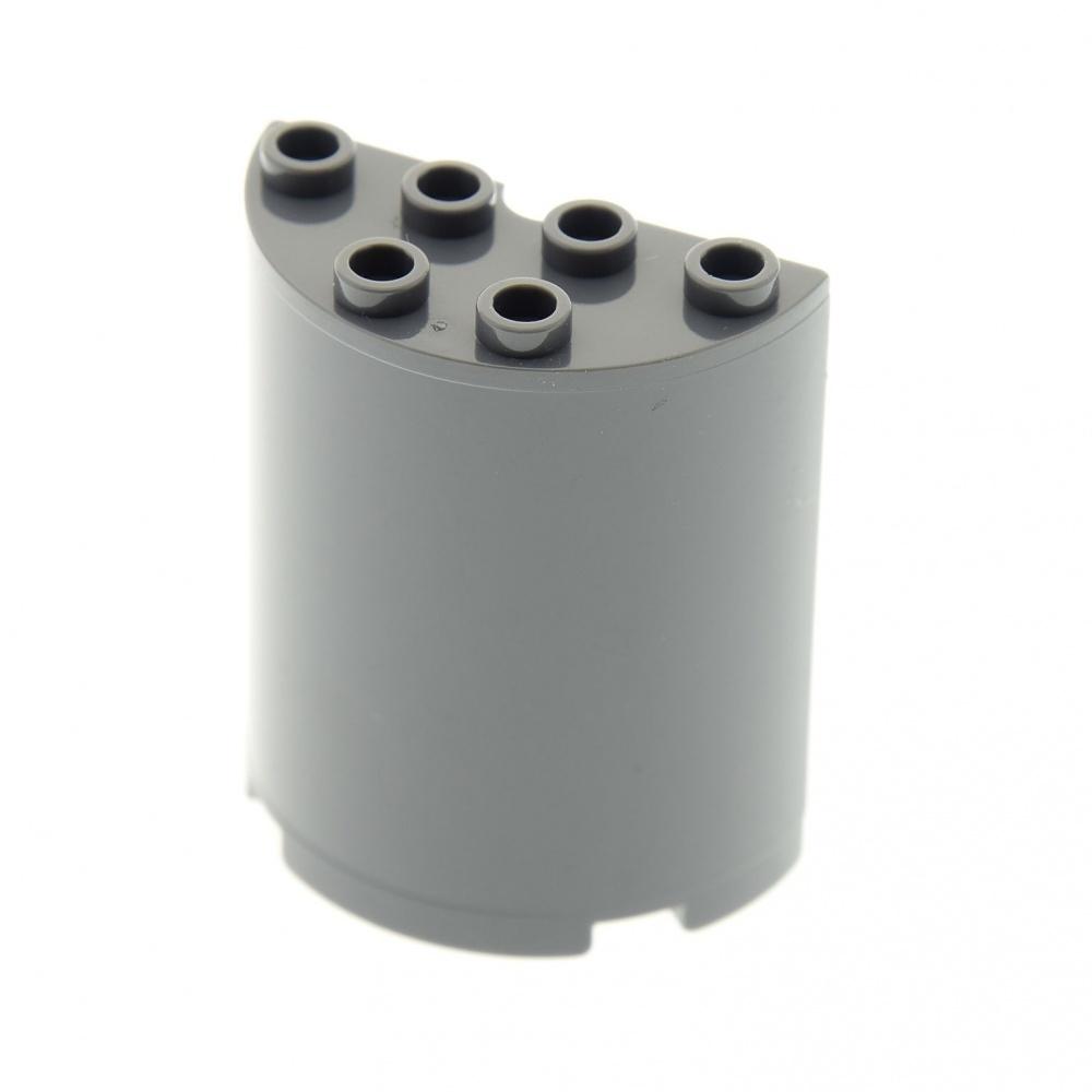 1x Cylinder Half 2x4x4 White//White 6259 New Lego