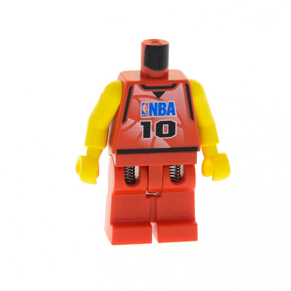 1x lego personaje torso jugadores de baloncesto rojo nº 10 Sports nba nba045 973bpb158c01