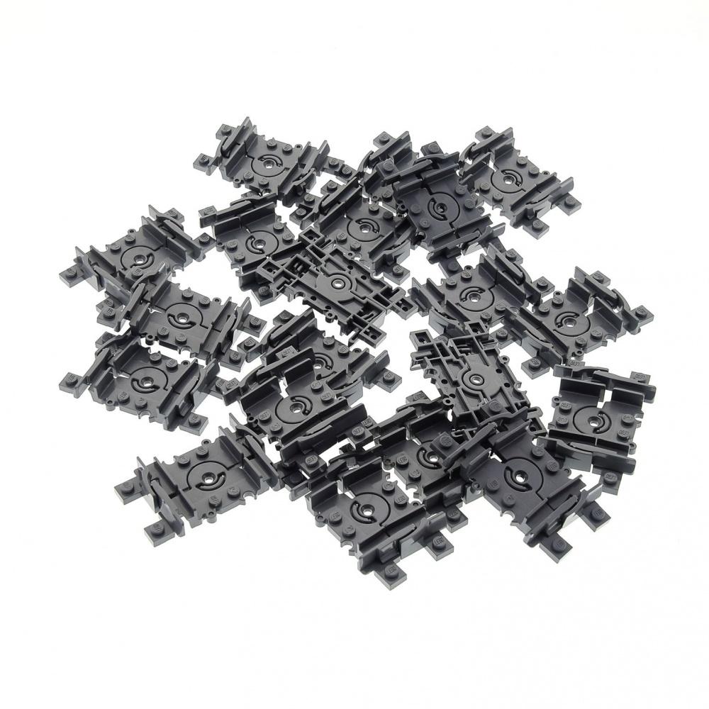 4 x Lego System Schiene neu-dunkel grau flexibel 4535745 64022c00 88492c00