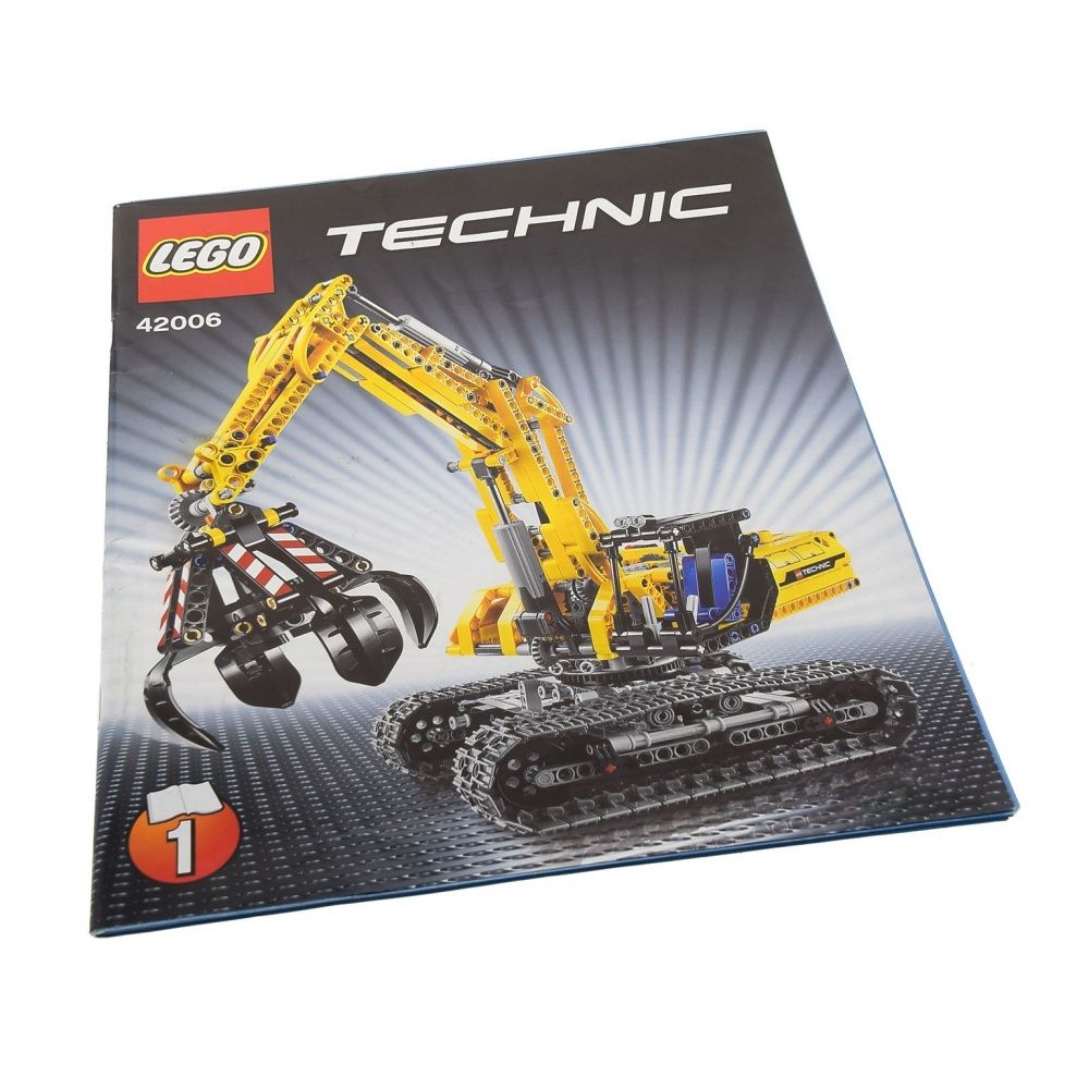 1 x Lego Technic Bauanleitung A4 Heft 5 Model Mobiler Kran Mk II 42009