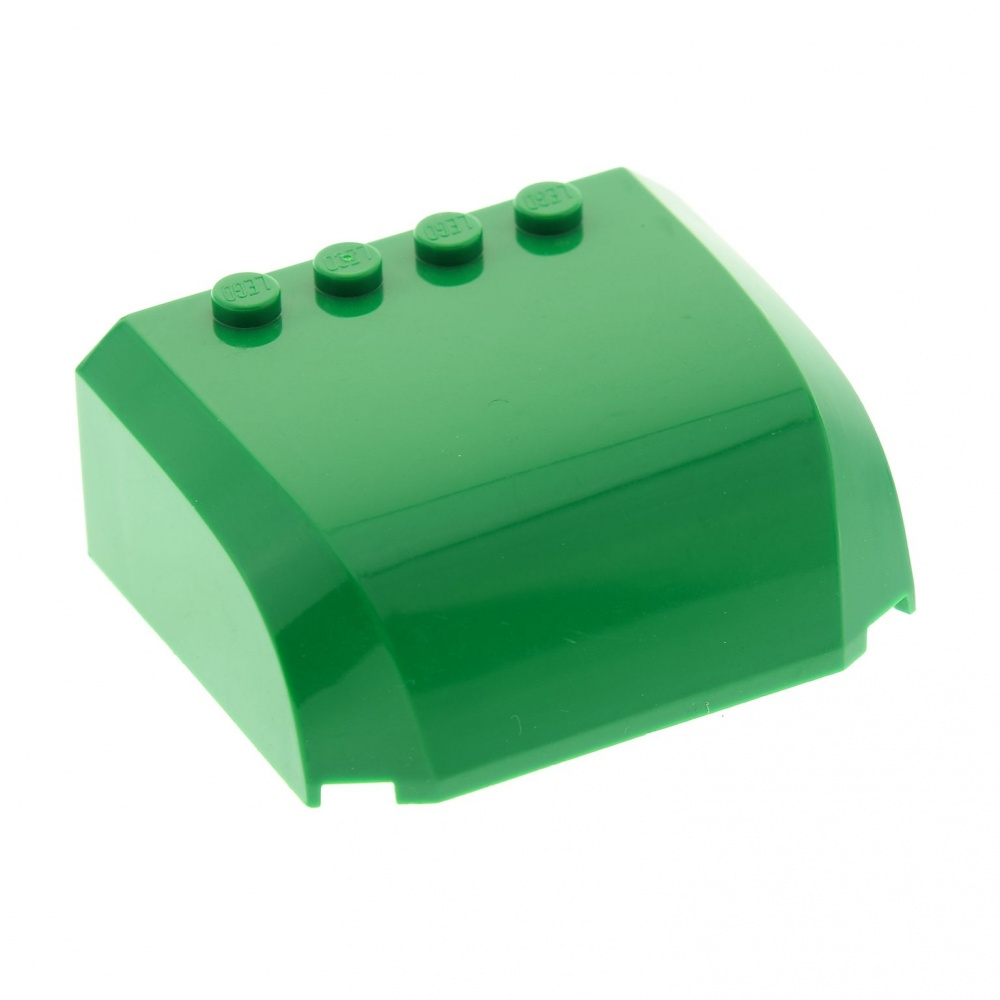 1 x Lego System Auto Dach grün 5x6x2 Set 7733 4517985 61484