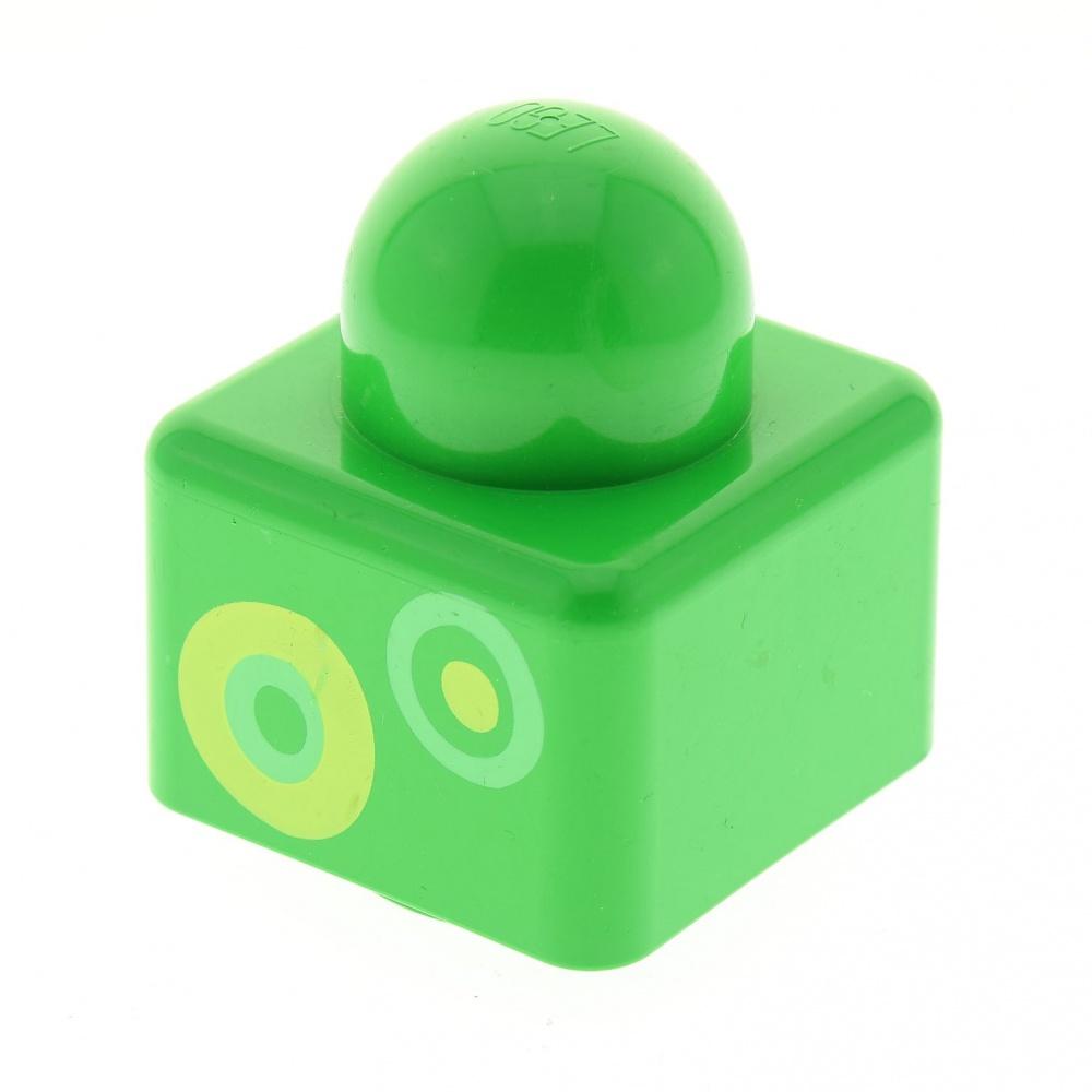 429 # Lego Stein rund 1x1 Transparent Hellblau 8 Stück