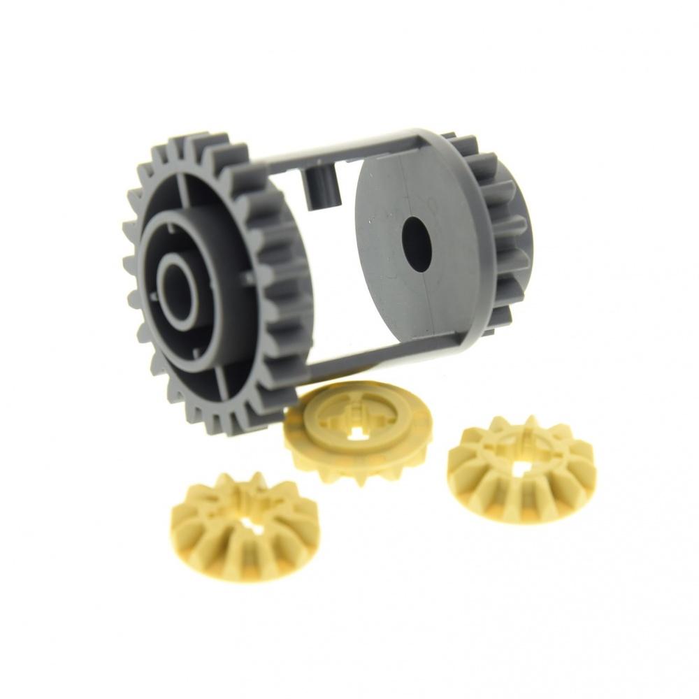 Lego® NEU Technic Getriebe Differential 6573 6589 Technik rot beige tan NEU