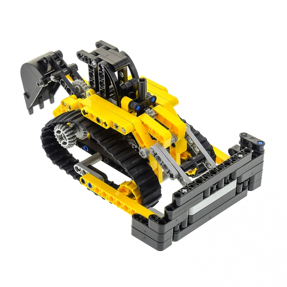 1 x Lego Technic Set Model Excavator 8419 Chains Digger ...