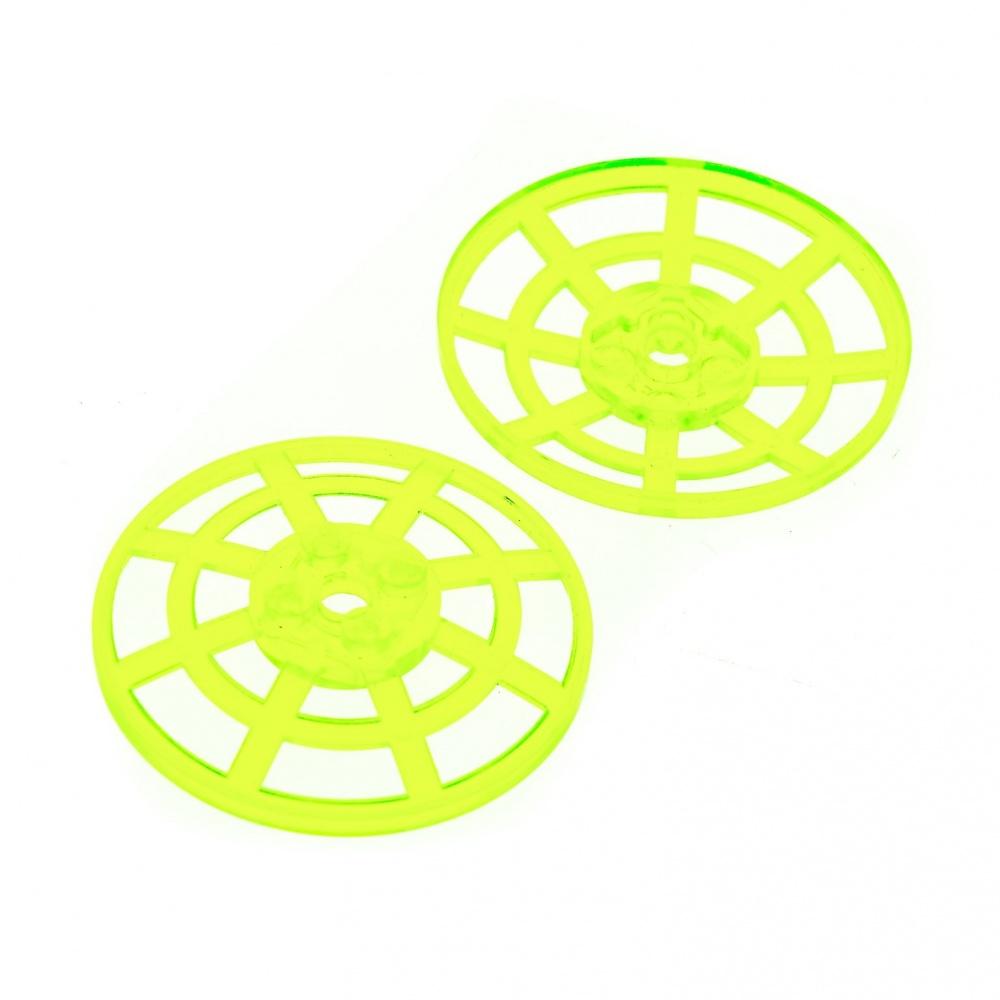 LEGO Translucent Neon 2x2 Radar Dishes with Handle