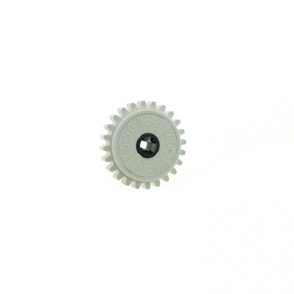 White Gear 24 Tooth Clutch Technic LEGO