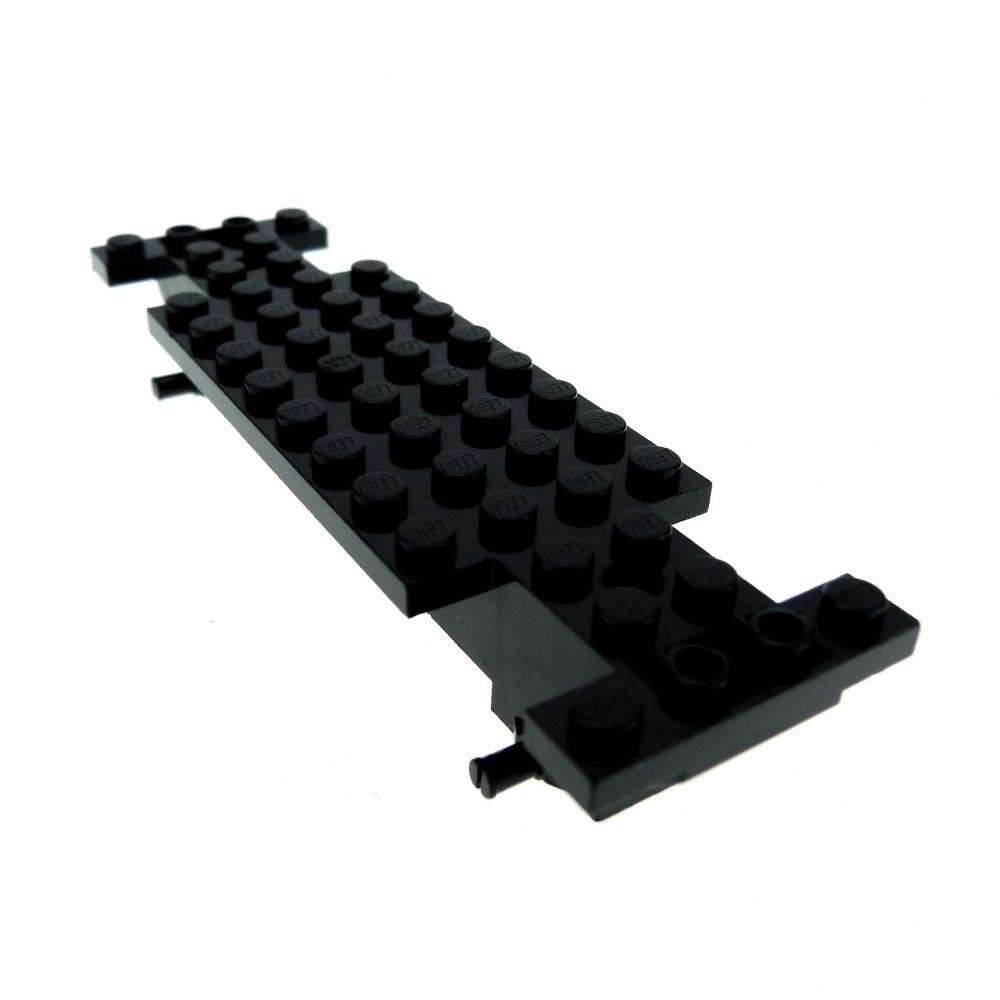 Lego 1 Black truck car base frame 4x12x1 2//3