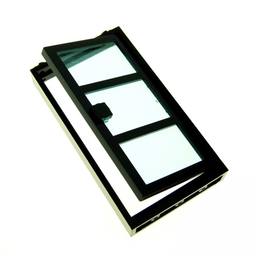 1x Lego Door Frame Black 1x4x6 3 Fields Knob 4535834 60797c02 60596